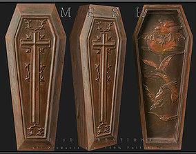 3D asset Coffin