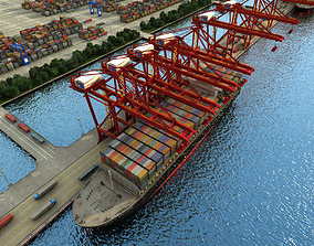 Container Terminal 3D