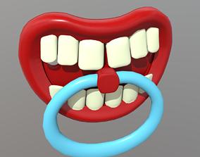Pacifier 2 3D asset