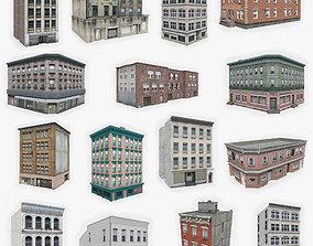 15 Apartment Building Collection 2 3D model