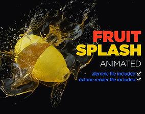 3D Fruit Splash