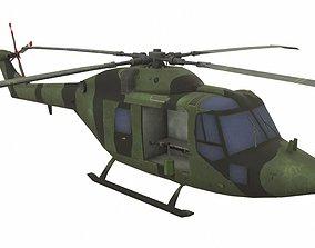 3D asset Westland Lynx AH-7