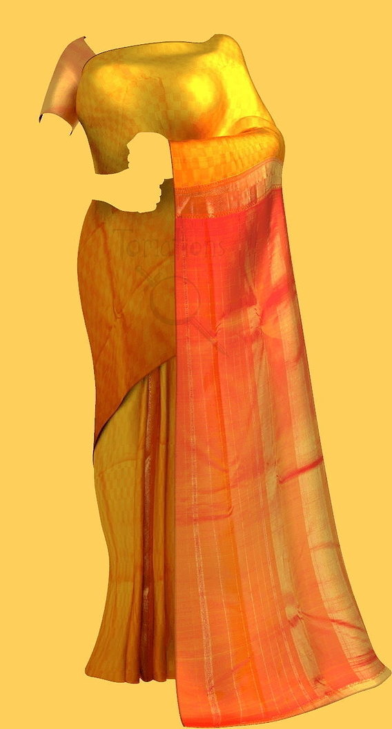 Saree Model