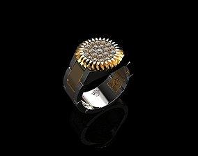 Diamond Rings For Men Mens Diamond Rings 3D print model