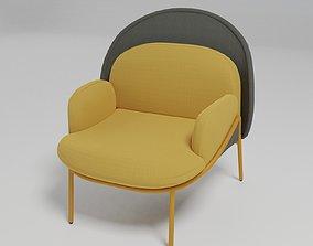3D MESH - Low-back wingchair -