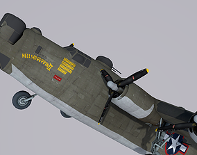 Consolidated B-24 Liberator 3D us