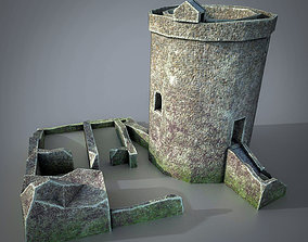 3D model Orchardton Tower