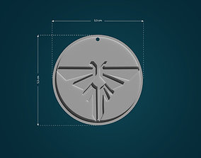 3D printable model Firefly Pendant from The Last Of Us