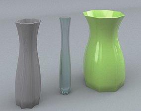 3D asset Decorative Vase - Set 1