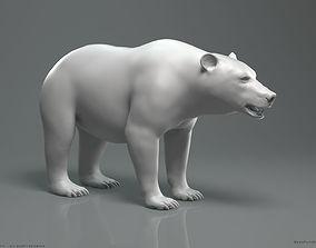 3D model ursidae Brown Bear - Highpoly Sculpture