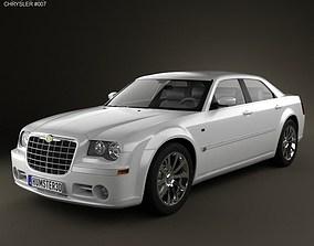 3D model Chrysler 300C sedan 2009