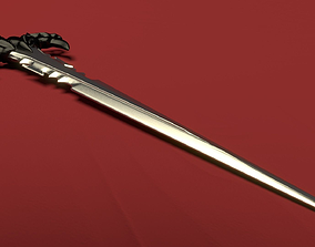 Fantasy Claymore Model low-poly