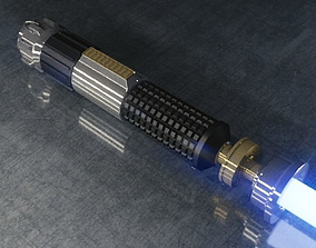 3D asset Star Wars Lightsaber Model