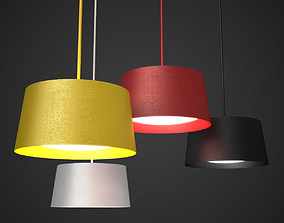 Twiggy Grande Pendant Lamp 3D