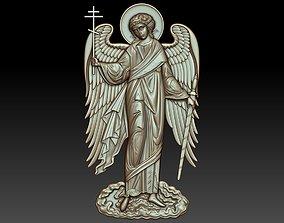 Guardian angel orthodox icon 3D