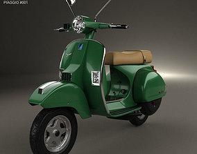 3D Piaggio Vespa PX 125 2012