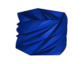3D printable model Geometric Planter 4