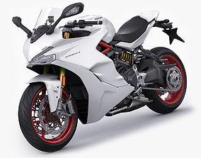 Ducati SuperSport S 2019 3D model