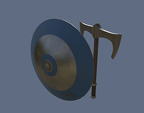Medieval Weapons PBR Pack 3D asset