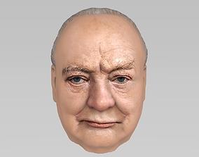 Winston Churchill 3D model