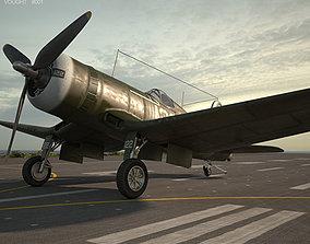 3D Vought F4U Corsair