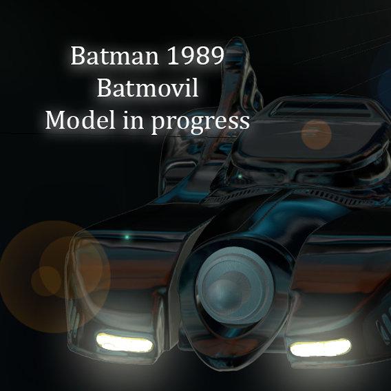 Batmovil batman 1989
