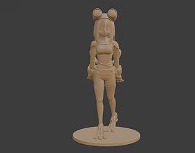 toys 3D print model Tsuyu Asui