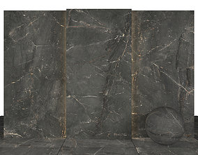 Precious Dark Gray Marble 3D asset