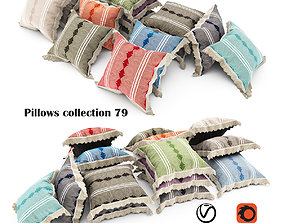 Pillows collection 79 3D model