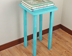 Square End Table - Life Sized 3D printable model