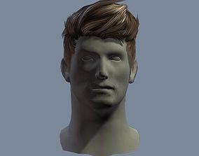 hair man 1 3D model