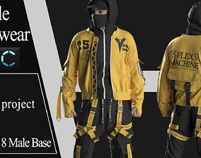 3D Male Streetwear 1
