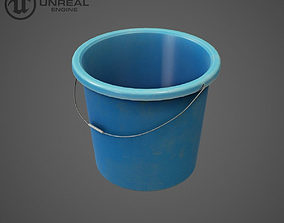 3D model Plastic bucket