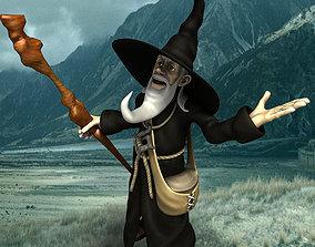 White Wizard 3D model
