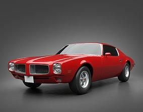 3D model vehicle 1970 Pontiac Firebird