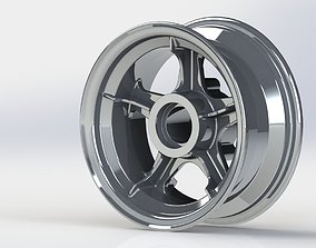 3D print model Airplane wheel drive
