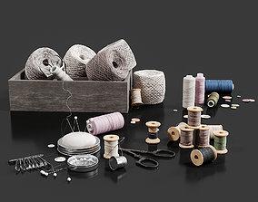 3D model Threads Set