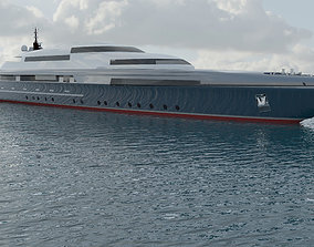 Concept Motor Yacht Protocol 3D model
