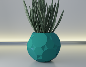 3D print model Pot planter 13