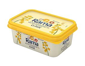 3D Margarine Box margarine