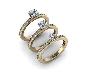 Jewelry Rings NINE RINGS 021 3D printable model