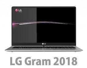 3D model LG Gram 2018