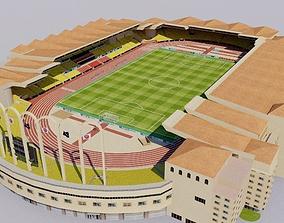 3D model Stade Louis II - Monaco