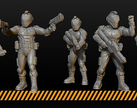 3D print model Cyber Police