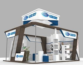 3D Exhibition Stand Booth 7x8m