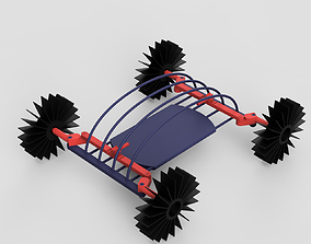 cross-country vehicle 3D printable model