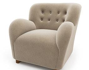 Coustom Lounge Chair 3D model