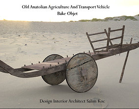 OLD ANATOLIAN AGRICULTURE AND TRANSPORT VEHICLE 3D asset 2