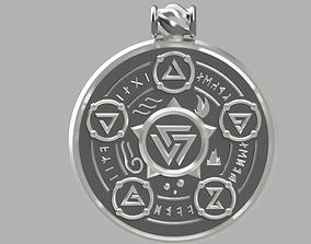 3D printable model Witcher medalion