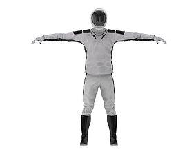 Spacesuit SpaceX Dragon Starman 2 3D model